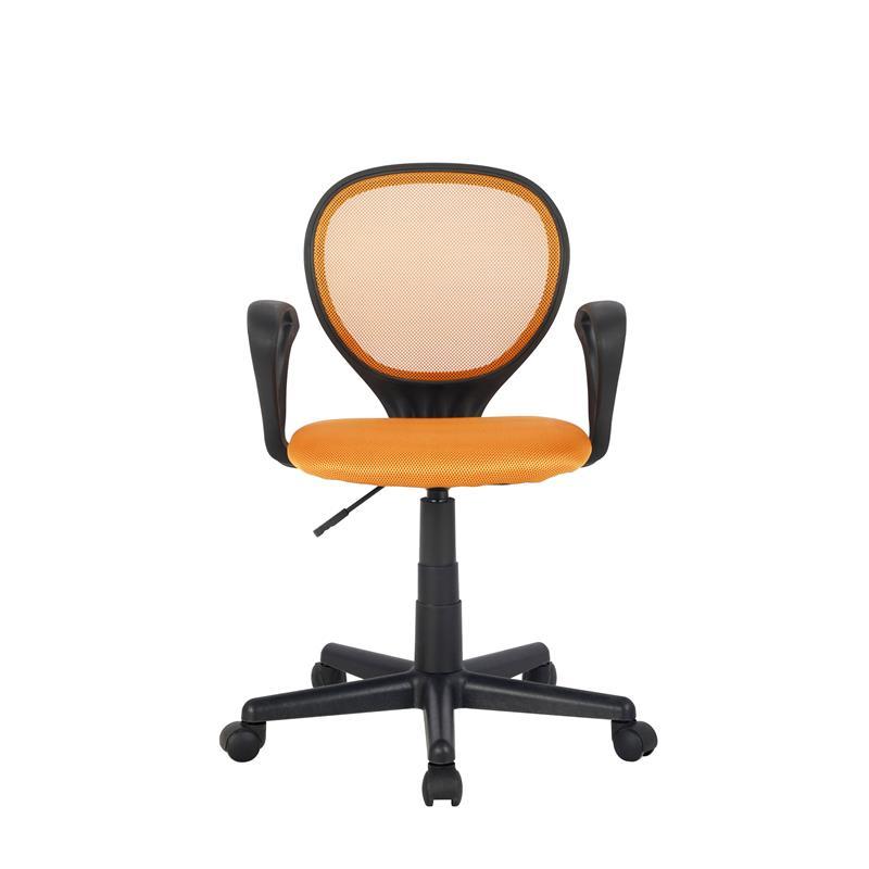 Sixbros silla de oficina con apoyabrazos naranja h 2408f for Oficinas de seur