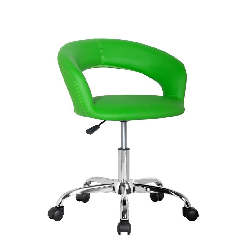 Design sgabello girevole da lavoro sedia da ufficio verde for Sgabello verde
