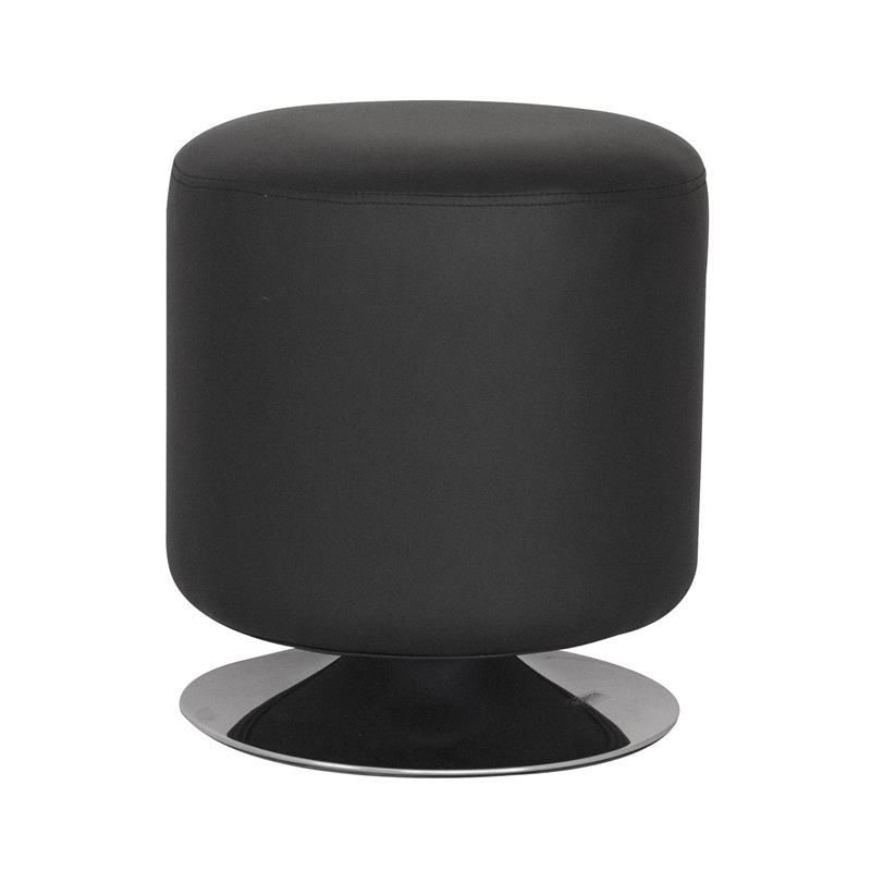 Sitzwürfel Sitzhocker Gepolstert Schwarz M-60351/2142