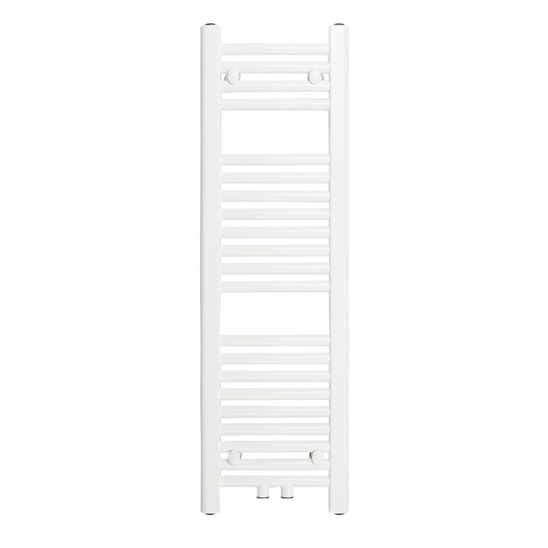 Radiador Toallero Anchura: 300 mm Oval Blanco Conexión central Conexión lateral R20