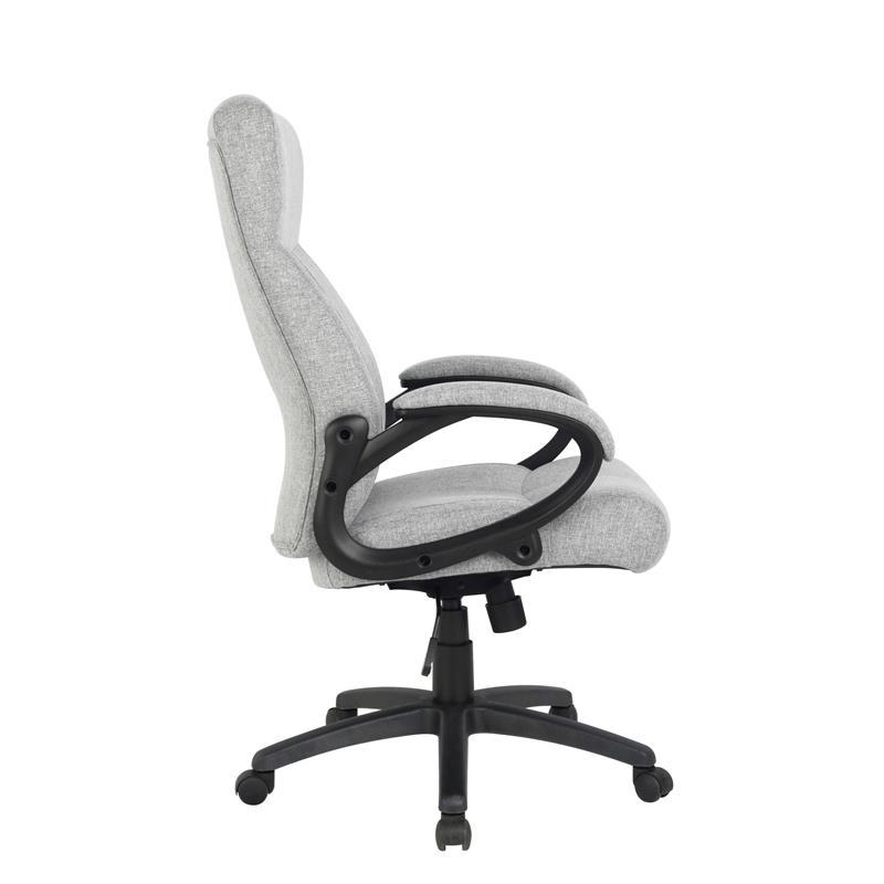Bürostuhl Chefsessel Drehstuhl Stoff Grau HLC-0311-1/2167
