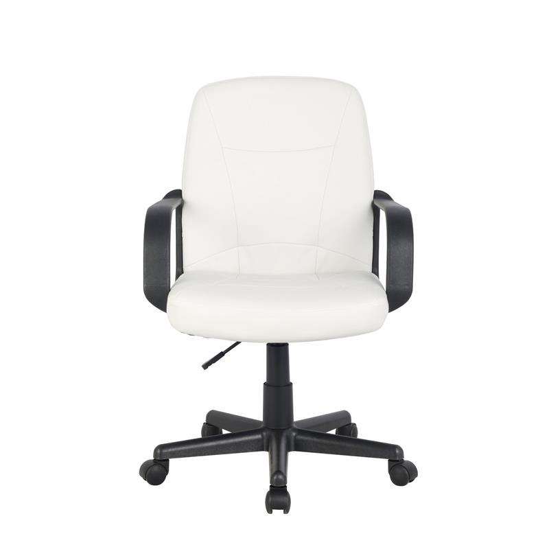 Schreibtischstuhl weiß  Bürostuhl Drehstuhl Schreibtischstuhl Weiß H-8365L-2/2168