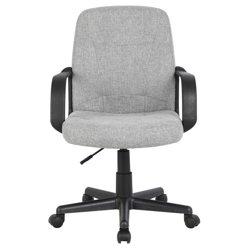 Bürostuhl Drehstuhl Schreibtischstuhl Stoff Grau H-8365L-2/2170