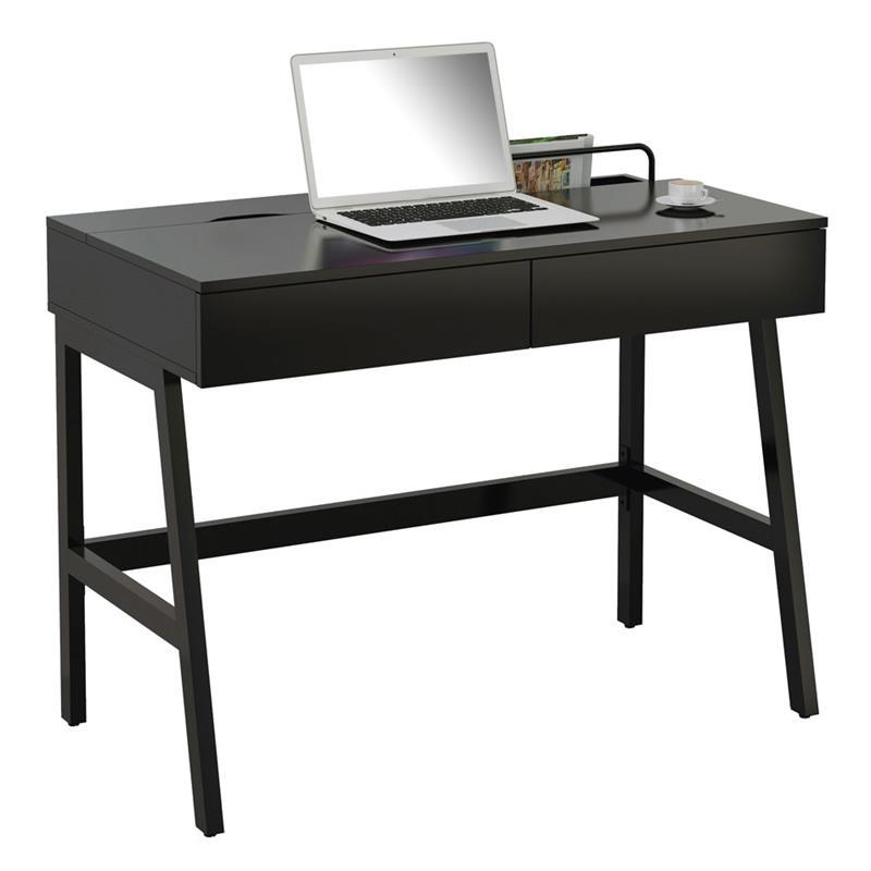 Schreibtisch Schwarz Hochglanz 2021