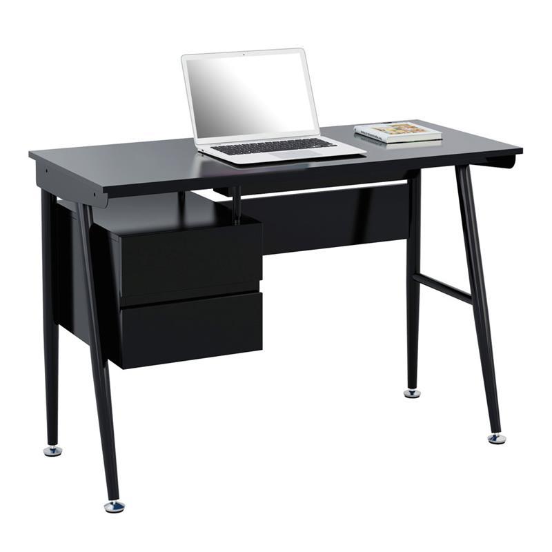 Computerschreibtisch Schreibtisch Hochglanz Schwarz Ct 35412188