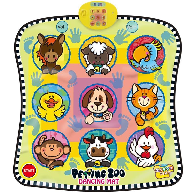 Alfombra de baile Alfombra musical con motivos de animales SLW9885/2203