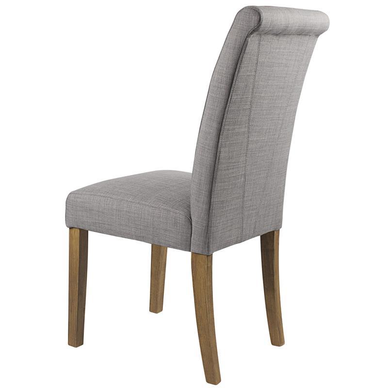 sixbros esszimmerstuhl polsterstuhl hochlehner stoff leinen grau 6018d 2225 ebay. Black Bedroom Furniture Sets. Home Design Ideas