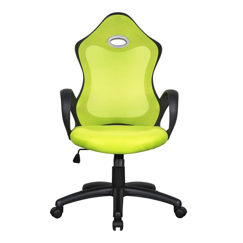 Racing silla de oficina silla giratoria verde negro 0388hb for Silla de oficina racing