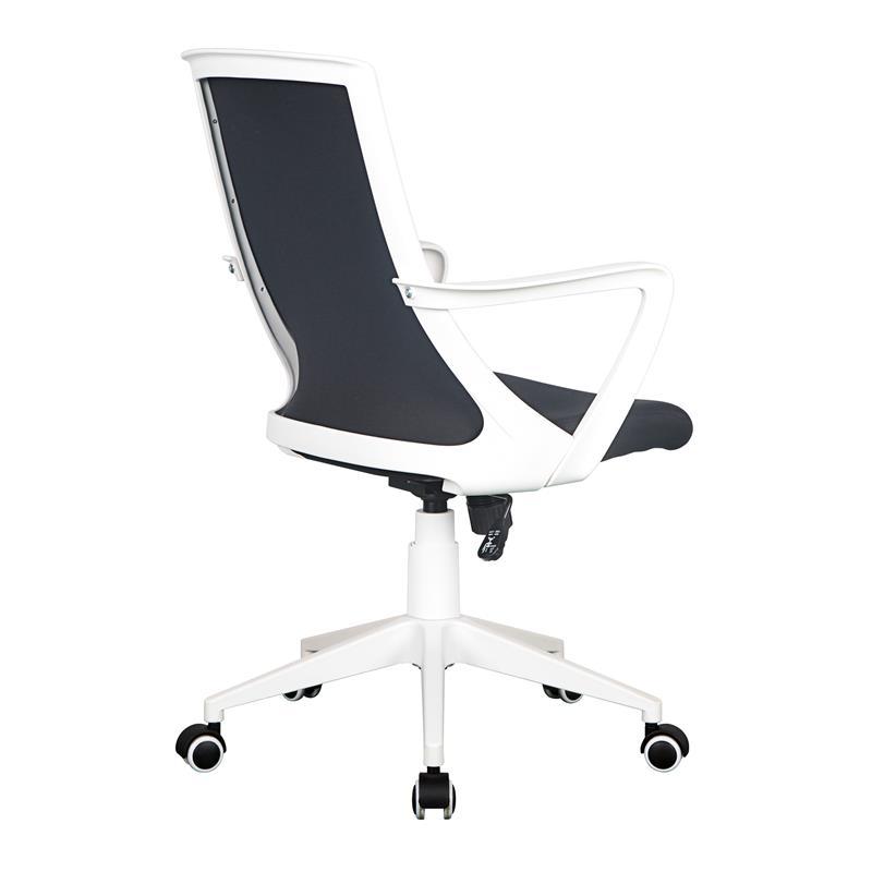 Schreibtischstuhl schwarz weiß  Bürostuhl Drehstuhl Schreibtischstuhl Schwarz/Weiß 0722M/2239