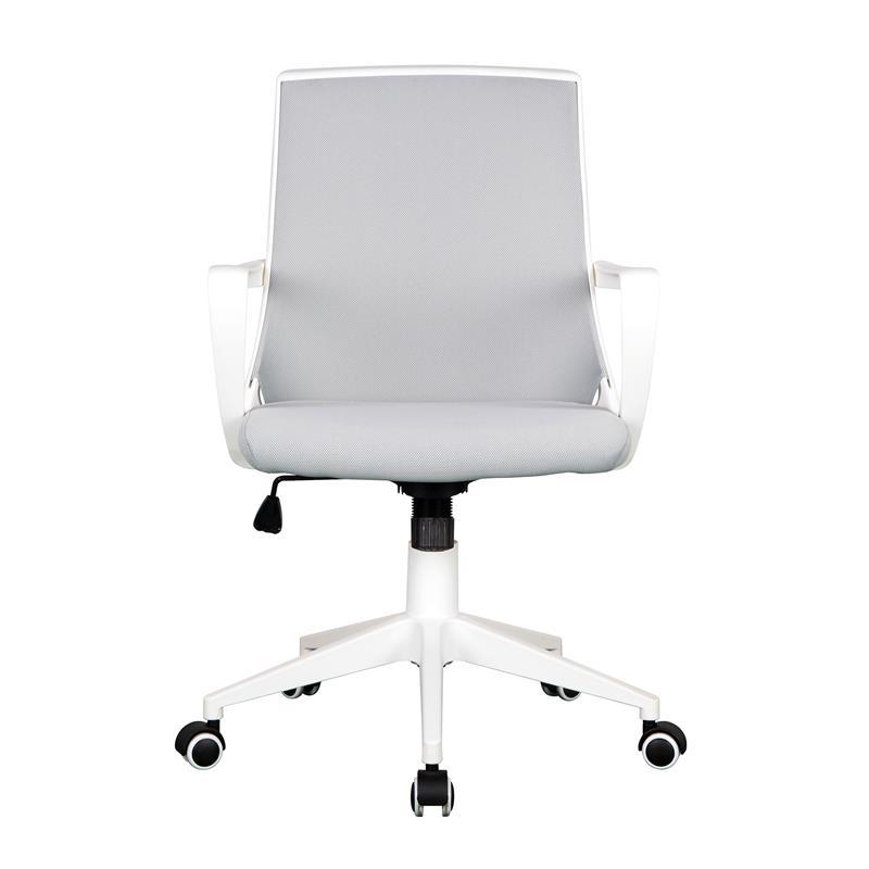 Bürostuhl Drehstuhl Schreibtischstuhl Grau/Weiß 0722M/2240