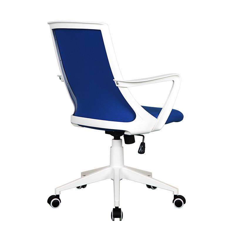 b rostuhl drehstuhl schreibtischstuhl blau wei 0722m 2241. Black Bedroom Furniture Sets. Home Design Ideas