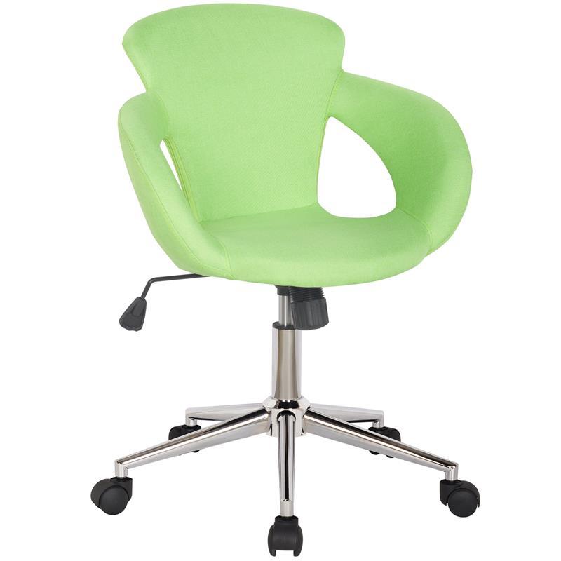 Sedie Da Ufficio Verde.Design Sgabello Girevole Da Lavoro Sedia Da Ufficio Stoffa Verde M