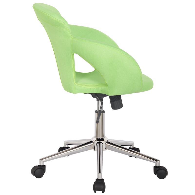 Bürostuhl Schreibtischstuhl Grün Stoffbezug M-65335-3/2334