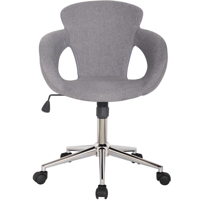 Bürostuhl Schreibtischstuhl Grau Stoffbezug M-65335-3/2335