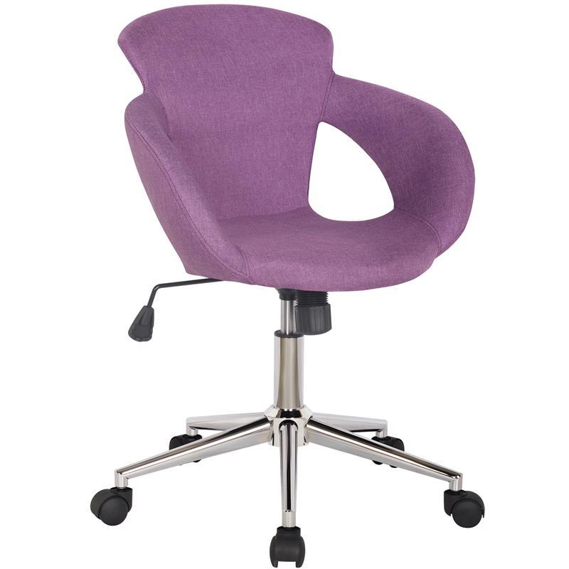 b rostuhl schreibtischstuhl lila stoffbezug m 65335 3 2337. Black Bedroom Furniture Sets. Home Design Ideas