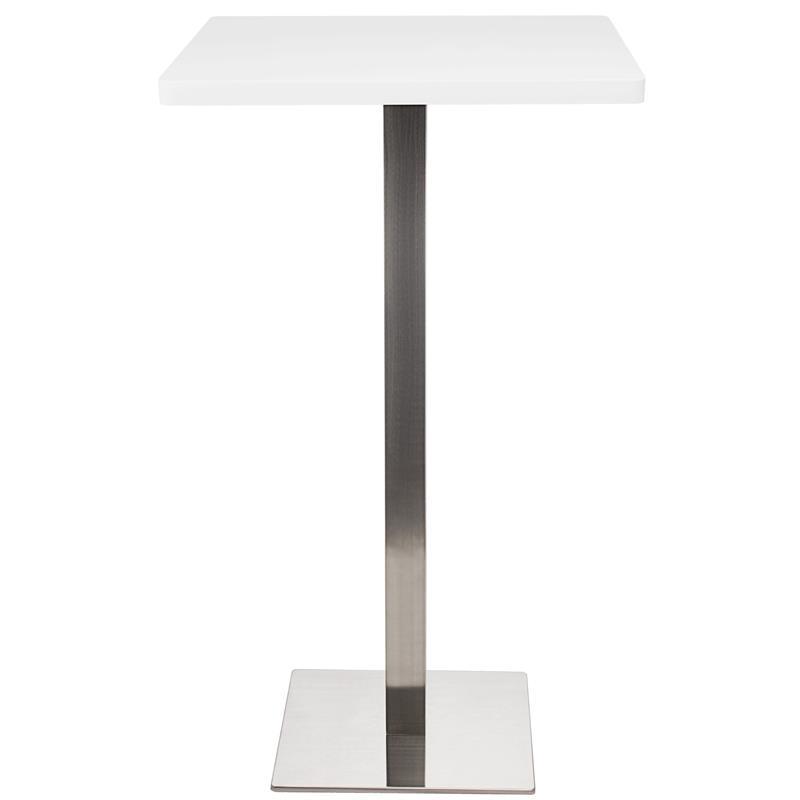 Table de Bar Table Bistro en MDF blanc 60x60x105 M-BT60H/2350
