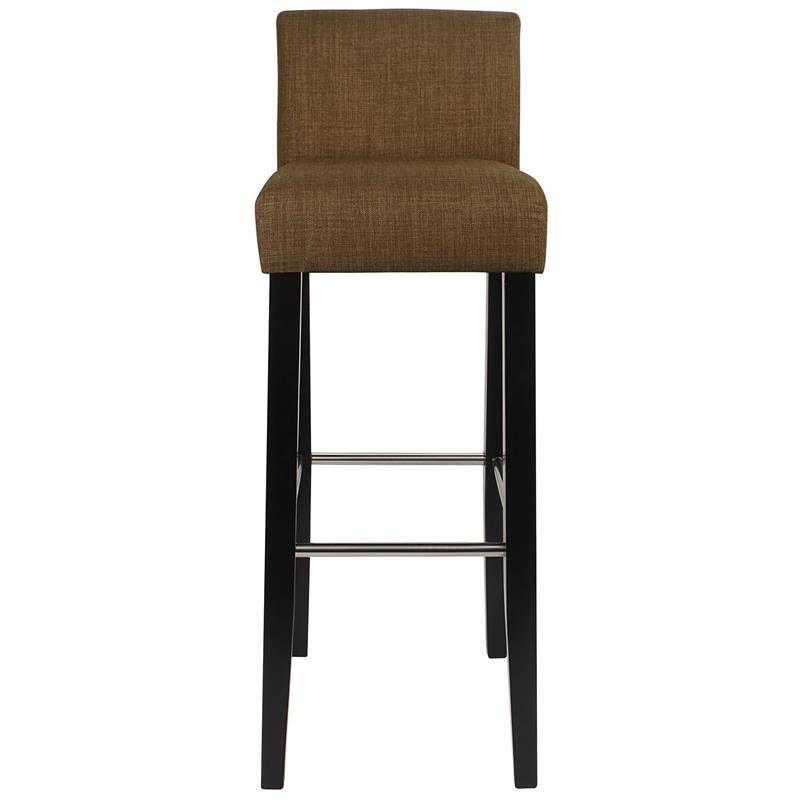 barhocker bistrohocker massiv buche stoff braun bar 01 bs 2479. Black Bedroom Furniture Sets. Home Design Ideas