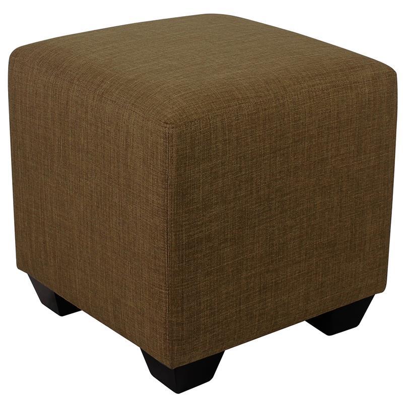 Sitzwürfel Sitzhocker Gepolstert Braun 2001A/2485