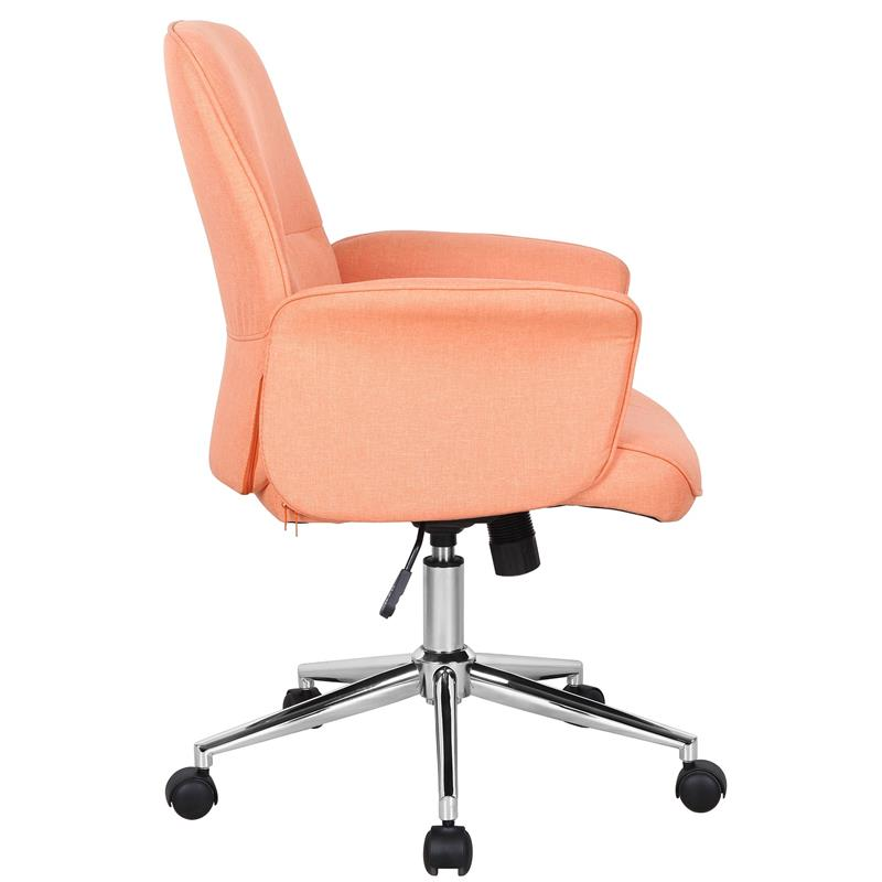 b rostuhl drehstuhl stoff orange 0704m 3672. Black Bedroom Furniture Sets. Home Design Ideas