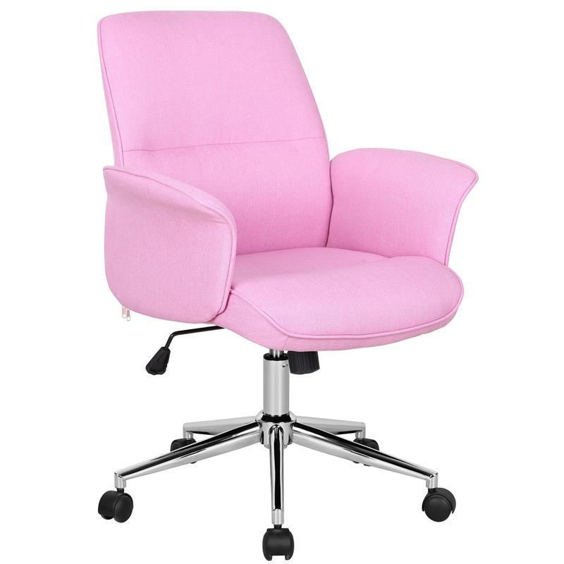 Miraculous Office Swivel Chair Pink 0704M 3673 Machost Co Dining Chair Design Ideas Machostcouk