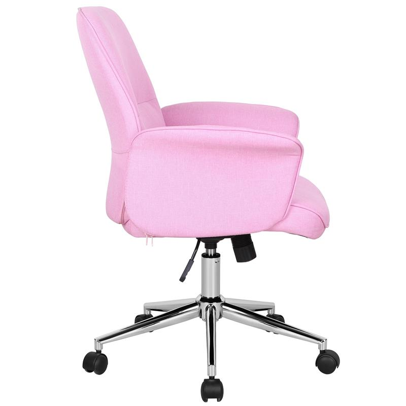 sixbros b rostuhl schreibtischstuhl drehstuhl stoff pink. Black Bedroom Furniture Sets. Home Design Ideas