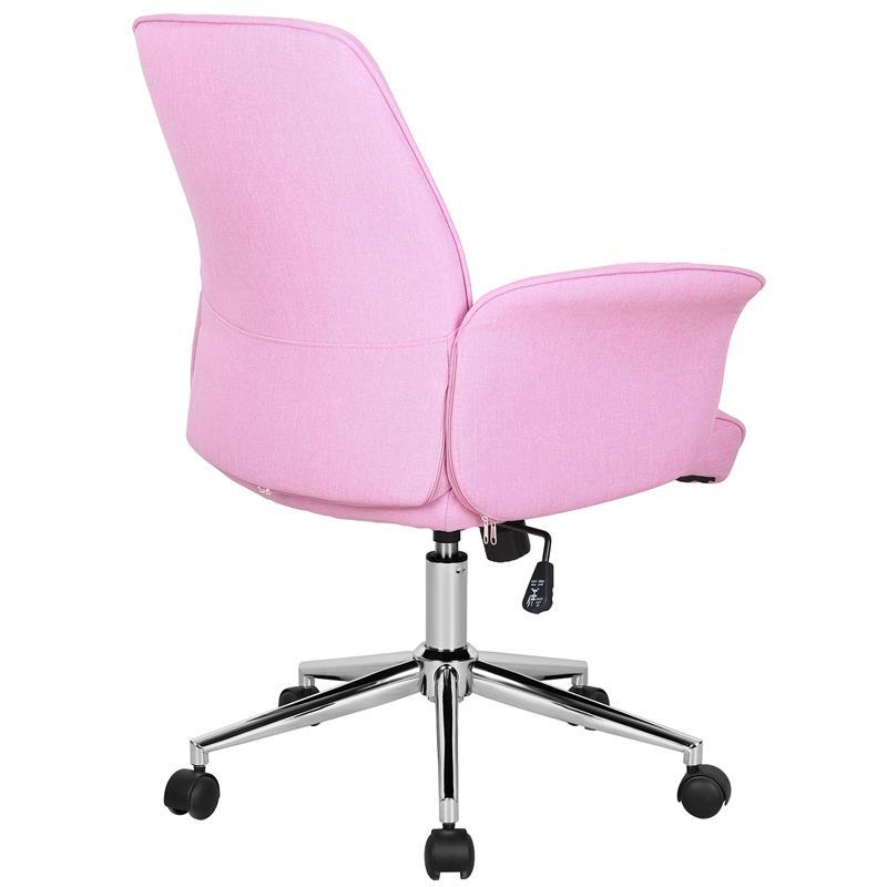 sixbros chaise de bureau rose 0704m 3673 ebay. Black Bedroom Furniture Sets. Home Design Ideas
