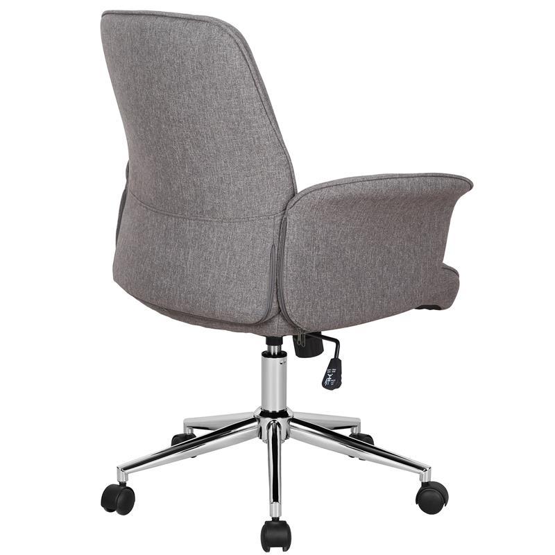 Bürostuhl Drehstuhl Stoff Braun 0704M/3675