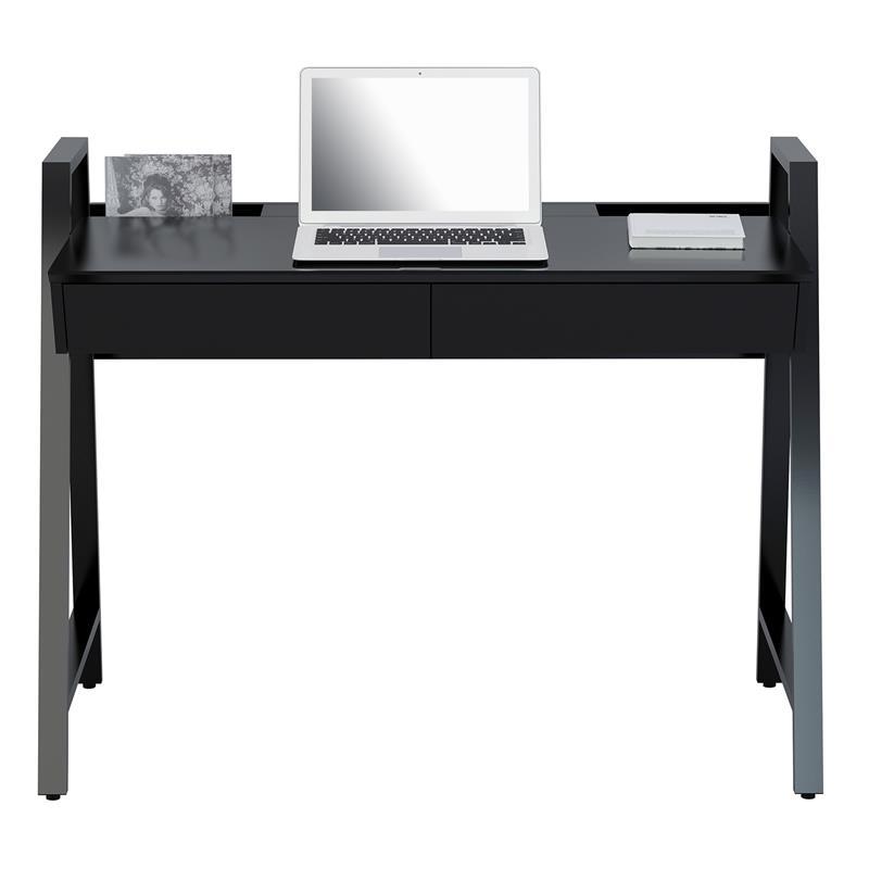sixbros computerschreibtisch schreibtisch hochglanz. Black Bedroom Furniture Sets. Home Design Ideas