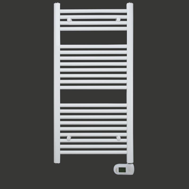 Elektrischer Badheizkörper Breite: 500 mm Gerade Weiß R01E