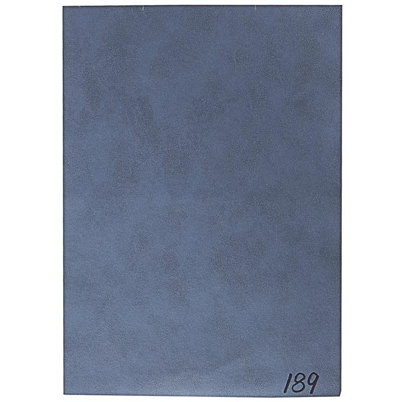 Silla de comedor azul M-72540/7672