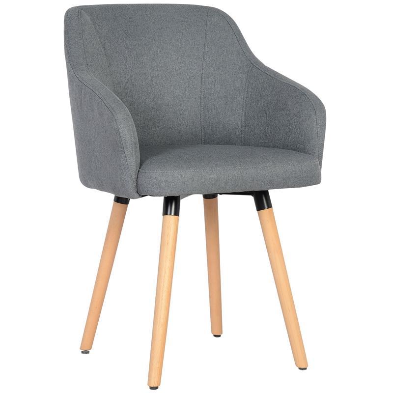 Chaise de salle à manger gris 7001X/7681
