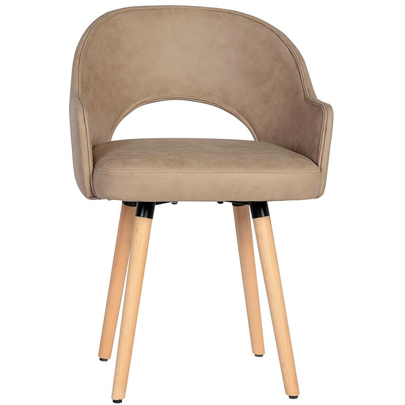 Chaise de salle à manger beige 7015X/7689