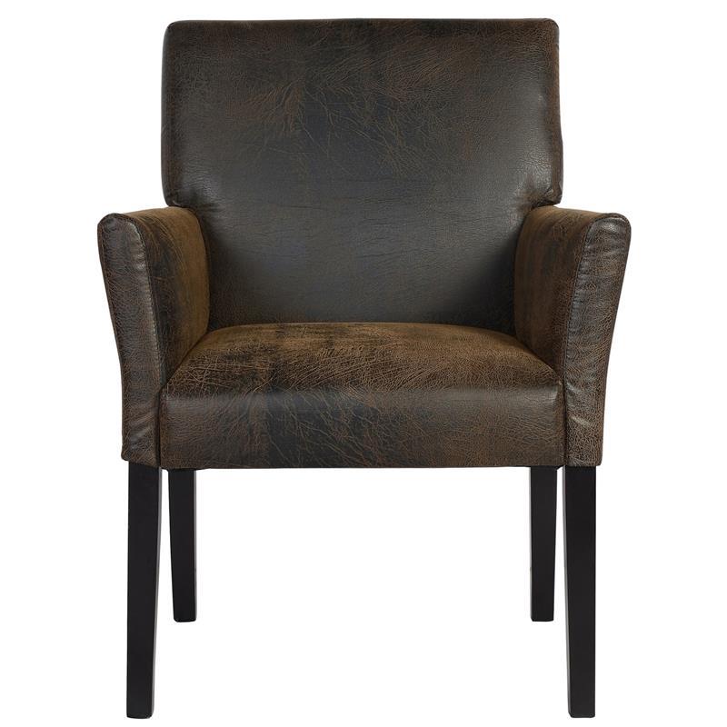 Chaise de salle à manger marron 1010/7692