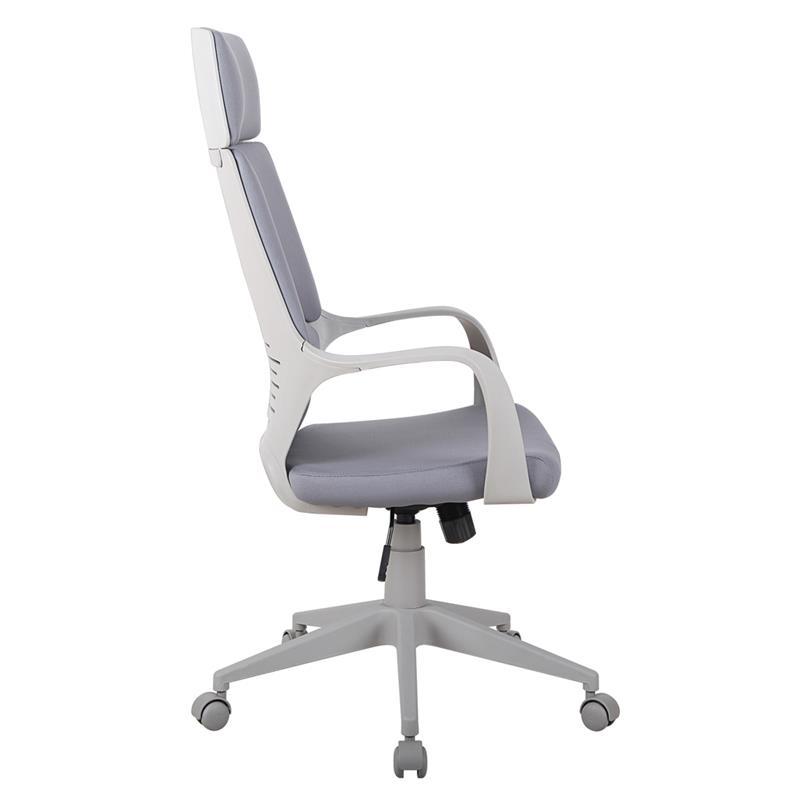 Bürostuhl Chefsessel Drehstuhl Grau 0898H/8059