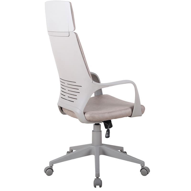 Bürostuhl Chefsessel Drehstuhl Braun/Grau 0898H/8060