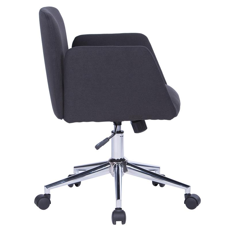 Bürostuhl Drehstuhl Schreibtischstuhl Schwarz W-173/8183