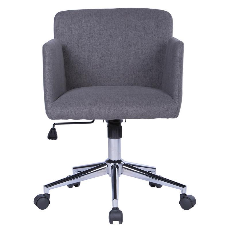 Bürostuhl Drehstuhl Schreibtischstuhl Grau W-173/8184