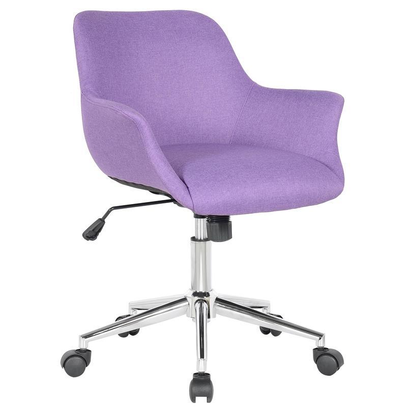 Bürostuhl Drehstuhl Schreibtischstuhl Lila M-65216/8406
