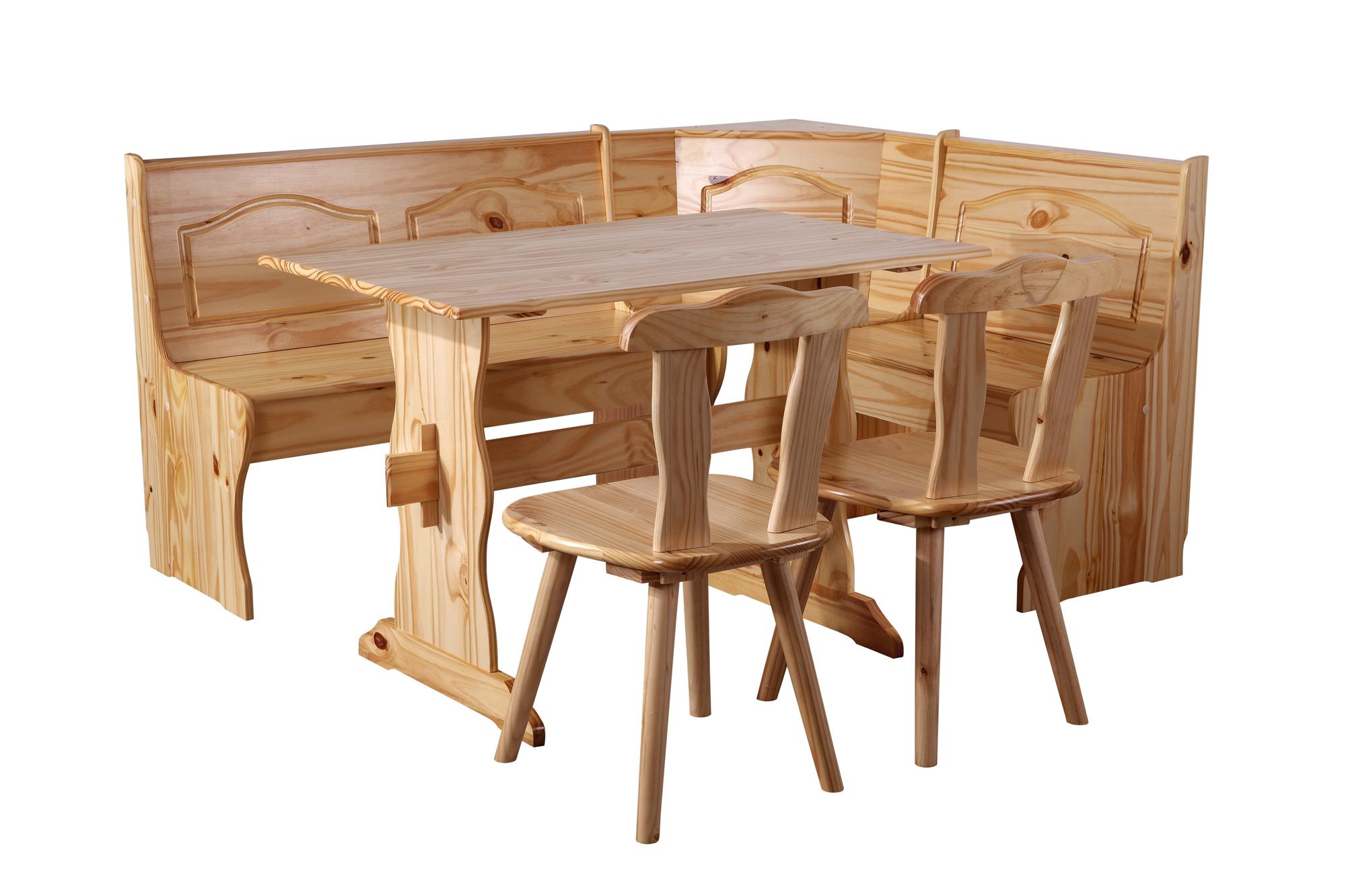 Panca Ad Angolo Per Cucina : Sixbros panca ad angolo rustica pino naturale dc n ebay