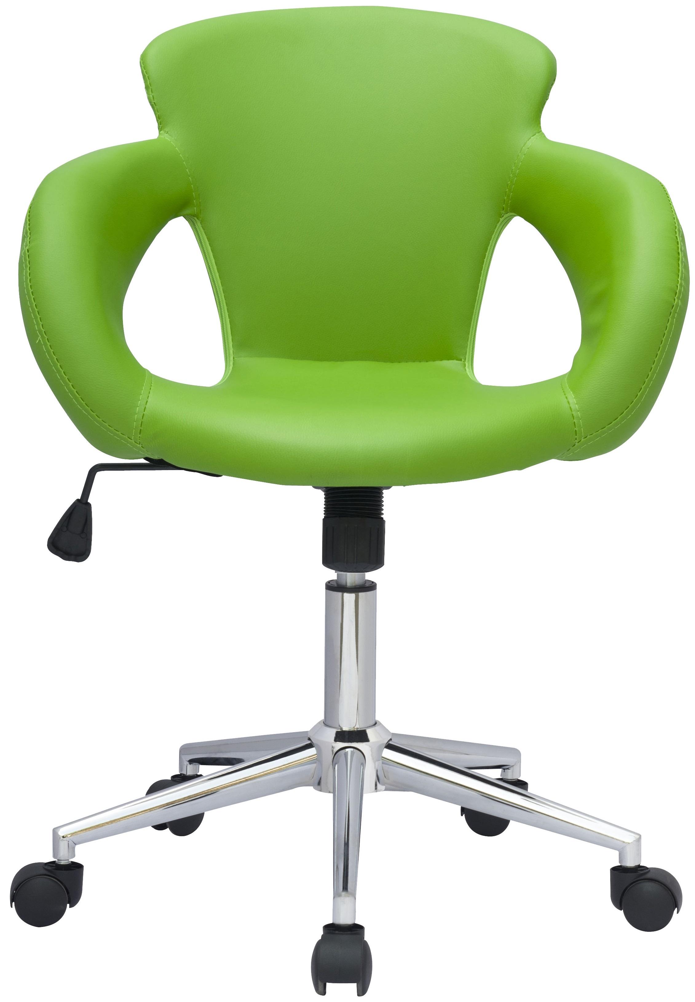 SixBros-Buerostuhl-Drehstuhl-Schreibtischstuhl-Kunstleder-Stoff-Farbe-Auswahl Indexbild 7