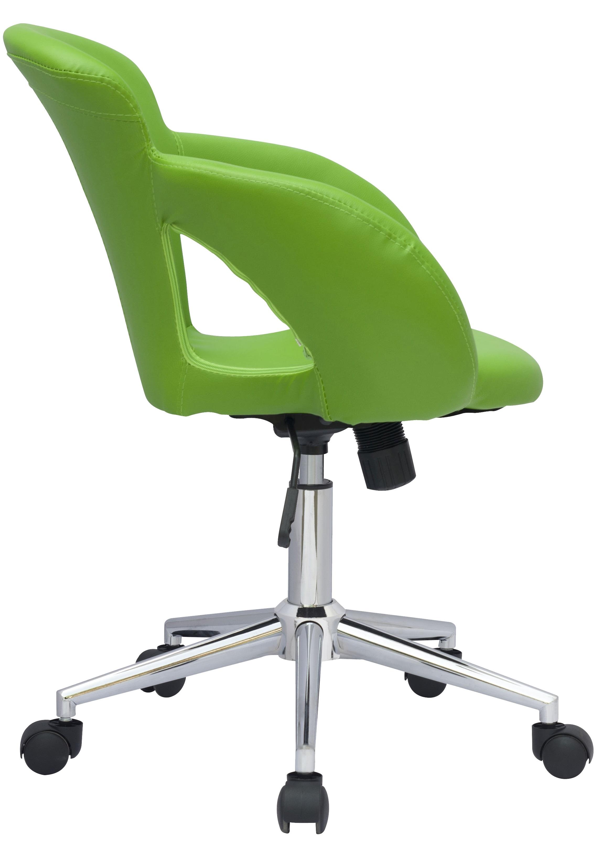 SixBros-Buerostuhl-Drehstuhl-Schreibtischstuhl-Kunstleder-Stoff-Farbe-Auswahl Indexbild 8