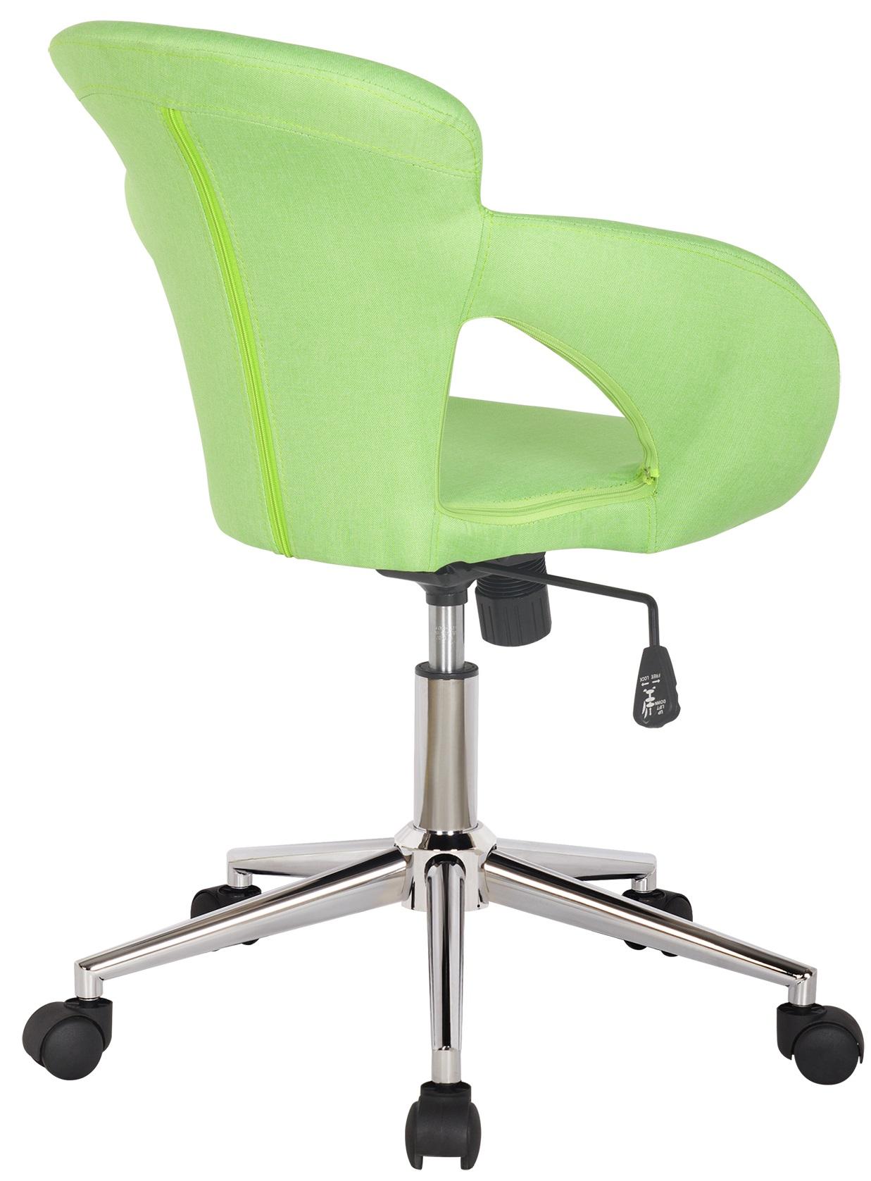 SixBros-Buerostuhl-Drehstuhl-Schreibtischstuhl-Kunstleder-Stoff-Farbe-Auswahl Indexbild 10