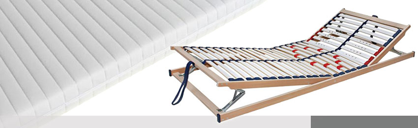 Slatted Frame - Mattresses